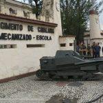 15° R C Mec inaugura Alameda dos Blindados