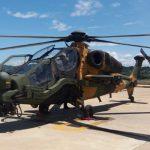 T129 ATAK sobrevoa a América Latina pela primeira vez