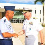 Comando Sul dos EUA recebe chefe do Estado-Maior Conjunto das Forças Armadas do Brasil