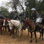 Curso de Cavalaria da AMAN realiza instrução de emprego em operações de GLO
