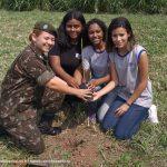 Exército Brasileiro celebra o dia da árvore