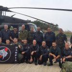 Bombeiros israelenses iniciam apoio à operação Verde Brasil/17