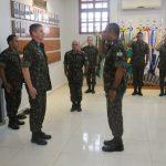 Comandante da 17ª Bda Inf Sl visita Comando de Fronteira Rondônia e 6º BIS
