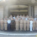 Comitiva da Escola Superior de Guerra da Colômbia visita a ECEME