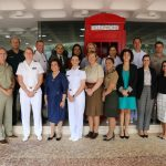 Missão de militares britânicas promove debates sobre Mulher, Paz e Segurança