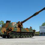 Exército Brasileiro recebe último lote do Obuseiro Autopropulsado M109 A5 + BR