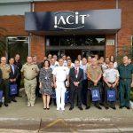 IACIT recebe comitiva de Adidos Militares Estrangeiros