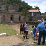 Alunos da rede estadual visitam Parque Histórico Monte Bastione