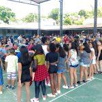 Colégio Brigadeiro Newton Braga celebra a família