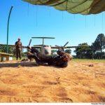 Academia da Força Aérea realiza treinamento de salto de emergência