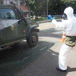 Batalhão de Defesa Nuclear, Biológica, Química e Radiológica realiza ações contra COVID-19 no Programa Nuclear da Marinha
