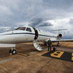 Aeronave VC-99C da FAB transporta material de saúde em apoio à Operação COVID-19
