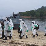 Marinha do Brasil realiza ação de prevenção e combate ao COVID-19 em Paquetá