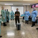 Hospitais militares treinam profissionais de saúde no combate à Covid-19