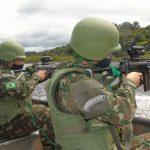 17° BIS realiza adestramento em ambiente fluvial