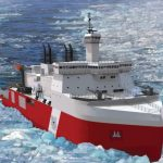 Novo Icebreaker da Guarda Costeira dos EUA só em 2024